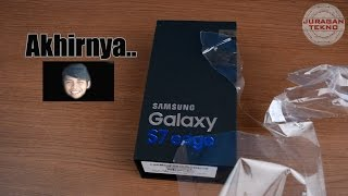 Unboxing Samsung Galaxy S7 Edge Indonesia (Juragan Tekno)