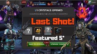 Last Featured 5* Crystal! Corvus? Domino? Cap IW? - Marvel Contest Of Champions