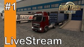 Euro Truck Simulator 2 Live Streaming Gameplay HD