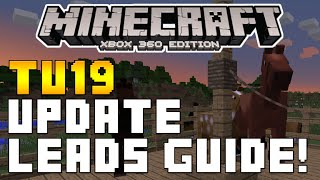 "Minecraft Xbox & Playstation: ""TITLE UPDATE 19"" LEADS FULL EXPLAINED & FEATURES! [TU19 UPDATE]"