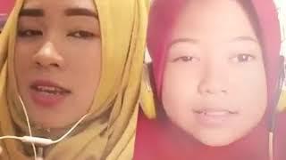 suara anak ini 8 thn ga kalah merdu,, Deen Assalam- Nisa sybian cover