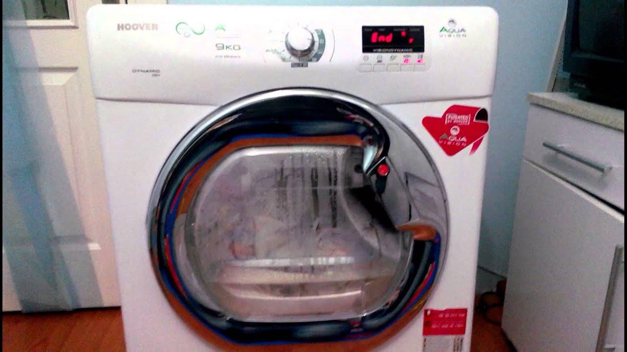 Hoover dyh na s aquavision a kg kurutma makinesi youtube