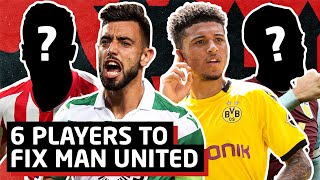 6 Signings To Save Manchester United