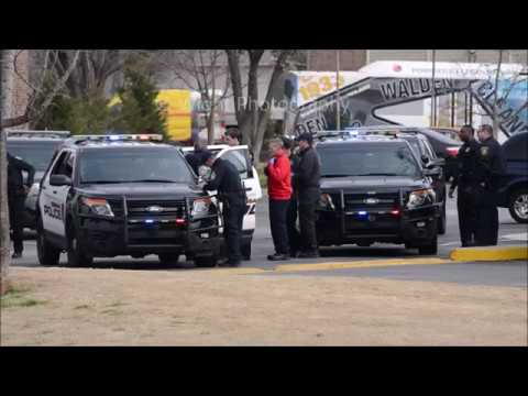 Police Chase Ends in Shots Fired in Norman, OK - February 18, 2019
