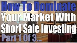 Short Sales Domination Video 1 of 3 | Learn real estate investing Baltimore
