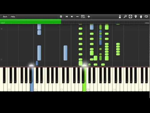 Eagles - Please Come Home for Christmas Synthesia Tutorial