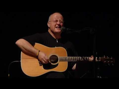 Christy Moore sound check at the point