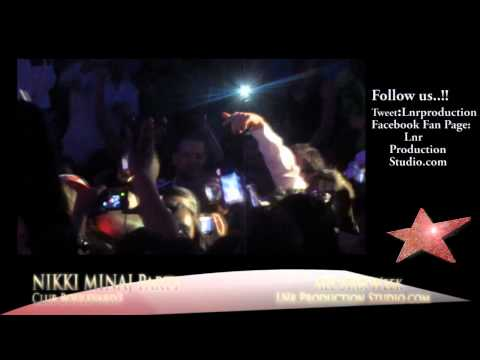 Nikki Minaj & Dj Khaled Afterparty at Boulevard3 Hollywood