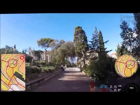 Gibraltar Botanic Gardens Urban Sprint Orienteering Course B
