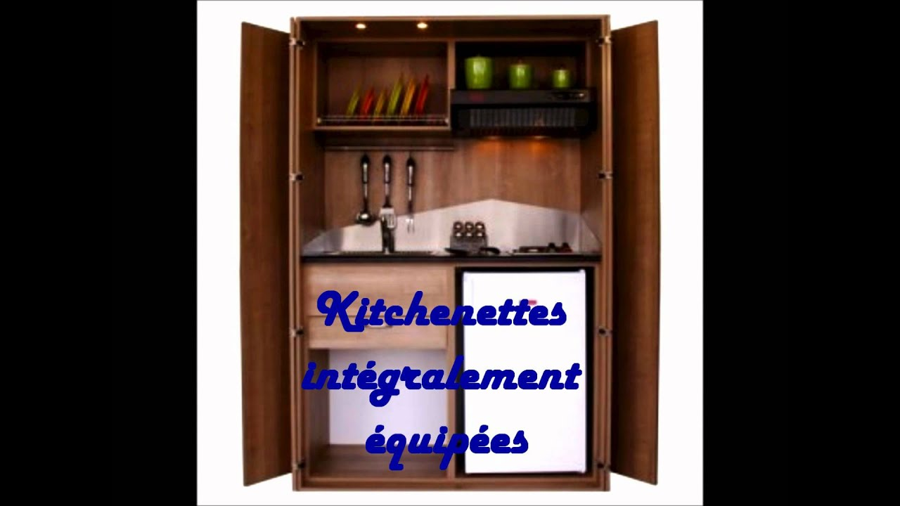 Meuble cuisine pro kitchenette design kitchenette for Meuble kitchenette