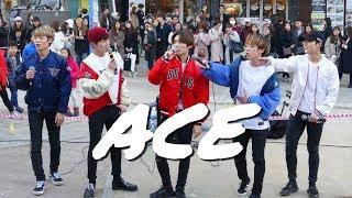 Video A.C.E -  Busking Hongdae  (RE-UPLOAD) download MP3, 3GP, MP4, WEBM, AVI, FLV Juni 2018