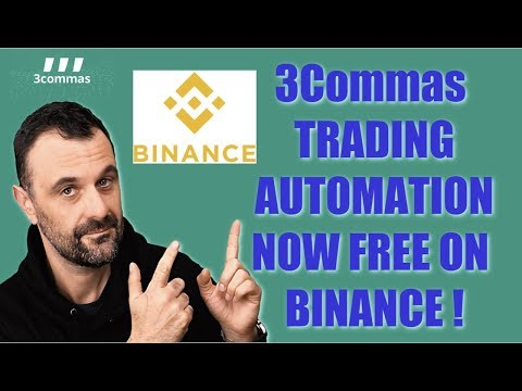 Binance makes trading automation FREE with 3Commas. Trade like a PRO on Binance!