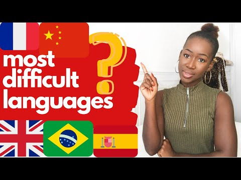 Top 3 Most  Difficult Languages To Learn