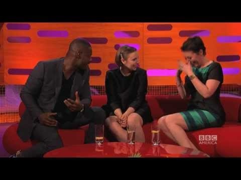 IDRIS ELBA's Sexy Face  The Graham Norton  on BBC AMERICA