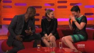 Idris Elba's Sexy Face - The Graham Norton Show On Bbc America