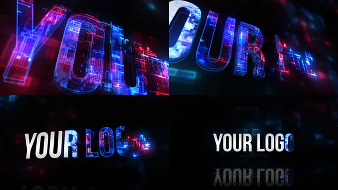 3D Tech Logo (After Effects Template) ★ AE Templates