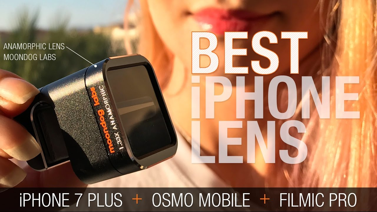 the best attitude 8afac 8f10e Best. iPhone 7 Plus Lens 2017!!! - Moondog Labs Anamorphic Lens