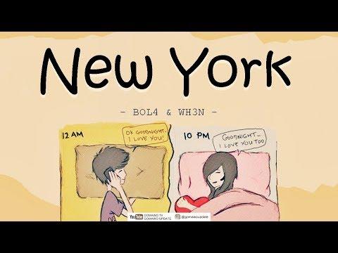BOL4, WH3N - New York [EasyLyrics/IndoSub] By GOMAWO