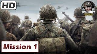 CALL OF DUTY WW2  Gameplay Walkthrough 1   Normandy