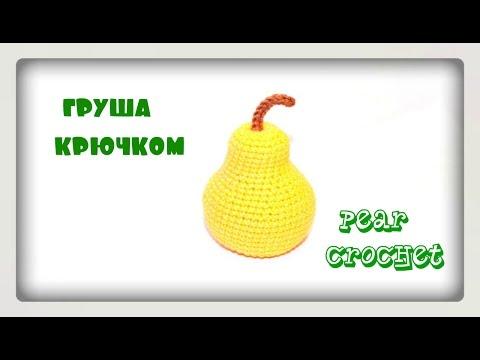 Amigurumi  Pear Crochet  Tutorial  Вязание крючком  Груша