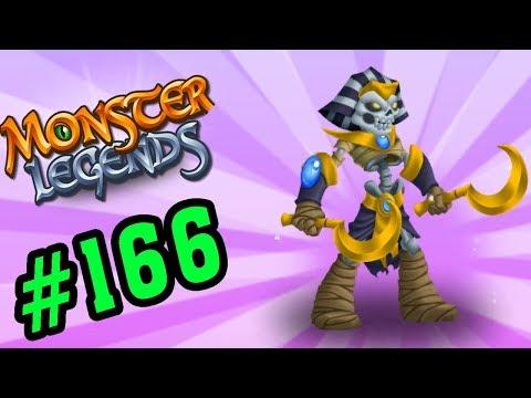 Monster Legends Game Mobiles - Akhenotep Review Xác Ướp Vị Vua - Thế Giới Quái Vật #166