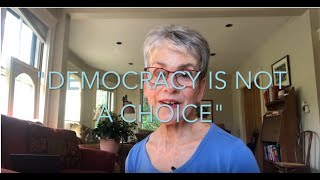 """Though Spark"" #4 - DEMOCRACY PART I: Democracy is Not a Choice"