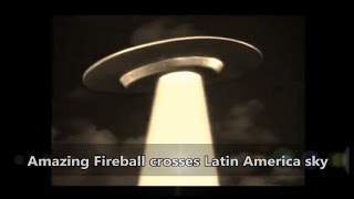 Amazing Fireball crosses Latin America sky - 30 July 2015