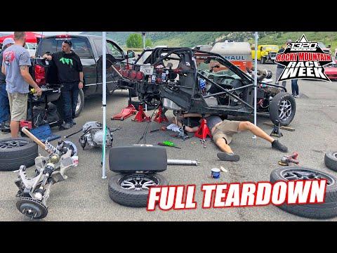 Race Week DAY 3: Leroy Undergoes MAJOR Repairs... (Complete Disaster)