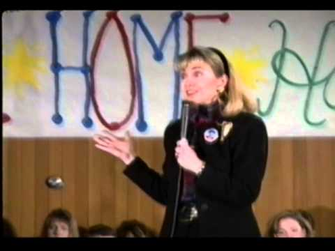 """Hillary Clinton: """"I was a Goldwater Girl"""" (1992)"""