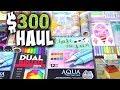 $300 ART SUPPLY HAUL + Craft Supplies | SoCraftastic