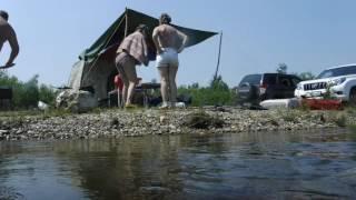Семейный отдых с Мобибой на реке