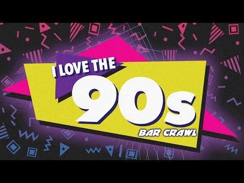 I Love The 90's Bar Crawl (ATL 2017)