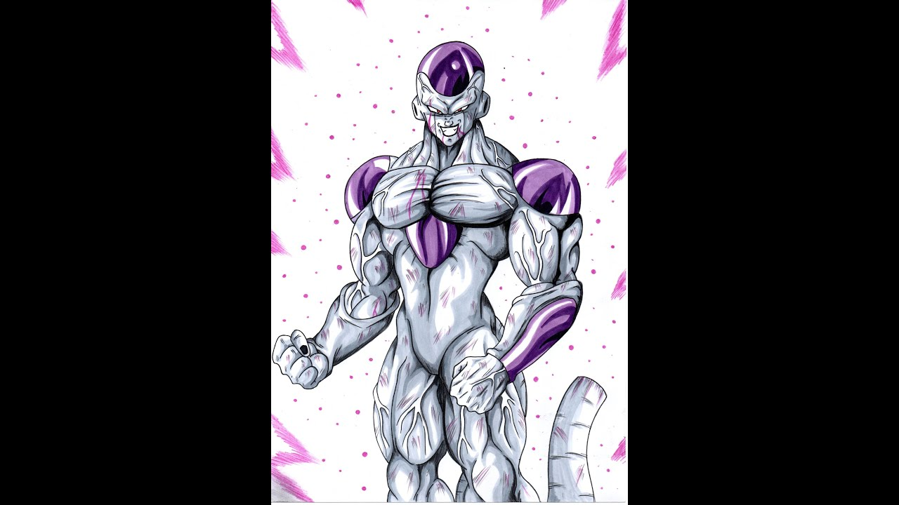 Gallery For > Frieza Final Form Full Power Drawing