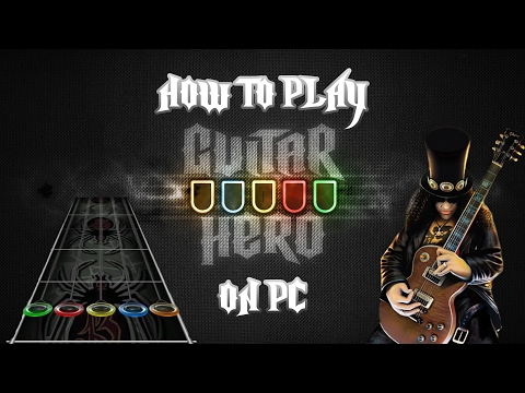 How to | Play ALL Guitar Hero's on PC | FAST + SIMPLE