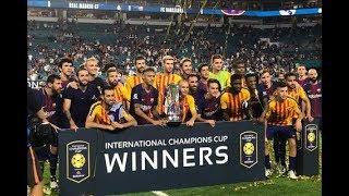 Tin Thể Thao 24h Hôm Nay (19h - 30/7): Thắng Kịch Tính Real Madrid, Barcelona Giành ICC Cup 2017