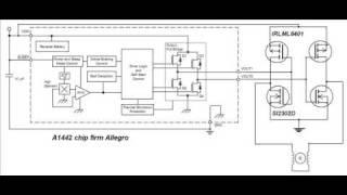 schem brushless micromotor