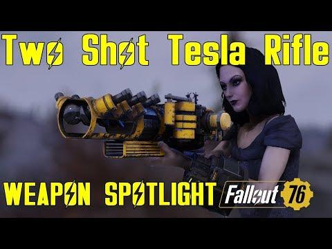 Fallout 76: Weapon Spotlights: Two Shot Tesla Rifle thumbnail