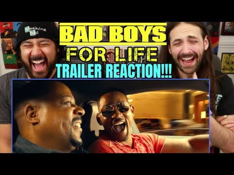 BAD BOYS FOR LIFE - TRAILER | REACTION!!! (Bad Boys 3)