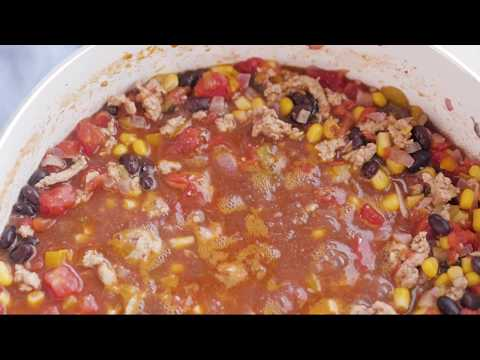 Turkey Taco Soup | Quick and Easy One Pot Meal
