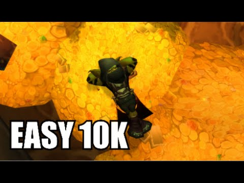 World of Warcraft: Best Gold Farming Methods - 10k-15k/Week! Patch 6.2