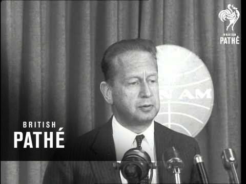 Hammarskjold Reports On Lebanon (1958)