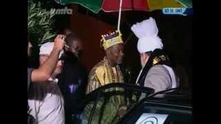 Arrival in Benin, Gathering at Calavi, 2004 by Hadhrat Mirza Masroor Ahmad