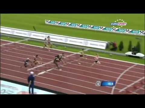 Asafa Powell shines at Ostrava