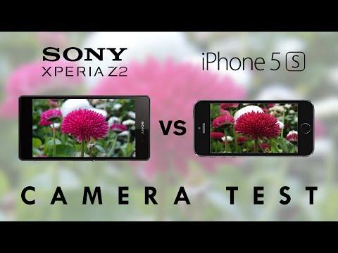 Sony Xperia Z2 vs iPhone 5s - Camera Test Comparison
