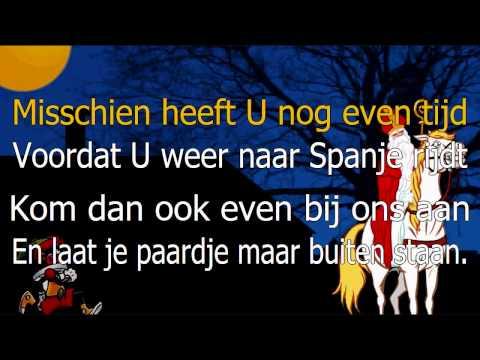 Karaoke - Sinterklaasje kom maar binnen