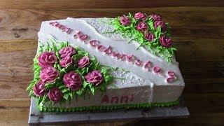 Торт на 70-летие для женщины
