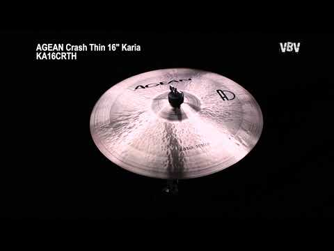 "16"" Crash Thin Karia video"