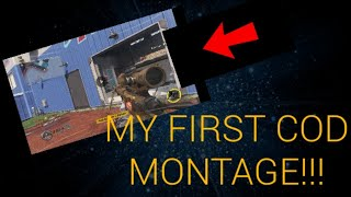 MY FIRST COD MONTAGE!!! ft. Venom/Eminem | Infinite Warfare MNTG