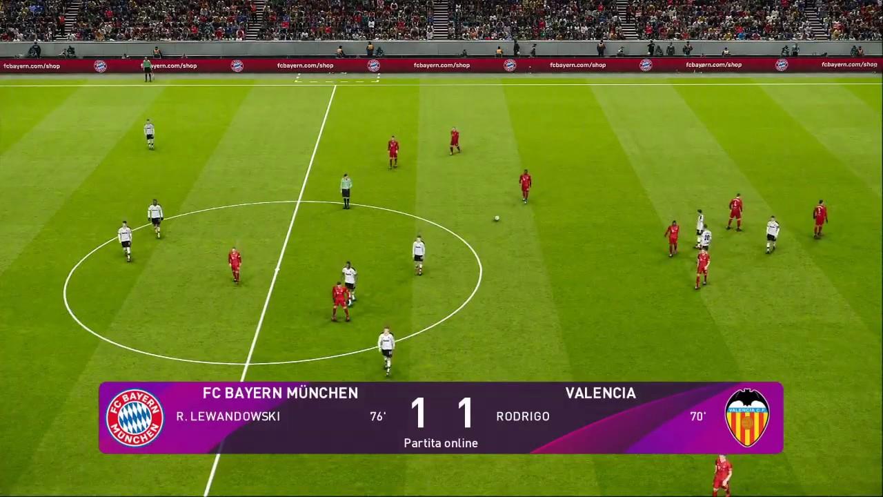 Bayern Monaco - Valencia - YouTube
