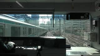 【4K】JR東日本 山手線外回り前面展望(東京~渋谷~新宿~上野~東京)